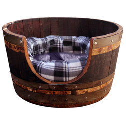 Rustic Dog Beds by Eco Wine Furniture