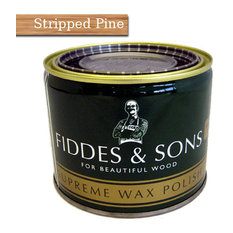 Fiddes & Sons Supreme Wax Polish 500ml, Stripped Pine