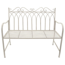 Mediterranean Outdoor Benches by Three Hands Corp