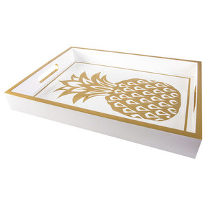 Vintage Pineapple Serving Tray