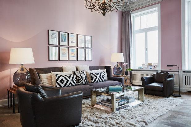 Klassisch modern Wohnzimmer by Anja Lehne interior design
