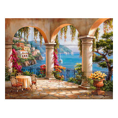 Tile Mural, Terrace Arch Ii by Sung Kim