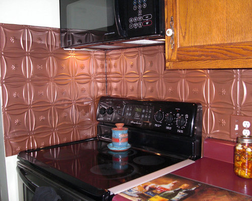 copper kitchen backsplash tiles tin backsplashes 5789
