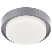 Bailey Flush Mount, Gray