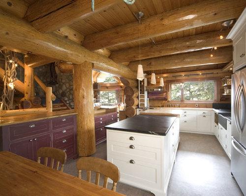 Whistler log cabin renovation for Cabine in whistler