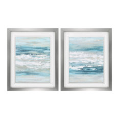At The Shore Framed Artwork, Set of 2 by PROPAC IMAGES