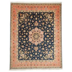 Tabriz 50Raj Oriental Rug, Hand-Knotted, 253x200 cm
