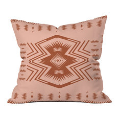 "Holli Zollinger Colorado Blush Throw Pillow, 16""x16"""