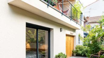 Maison neuve - façade exterieure
