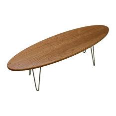 Grain Control - The Longboard Coffee Table, Cherry - Coffee Tables