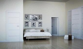 Habitacion de Hotel Puertas Blancas Lacadas con pantografiado Norma Doors