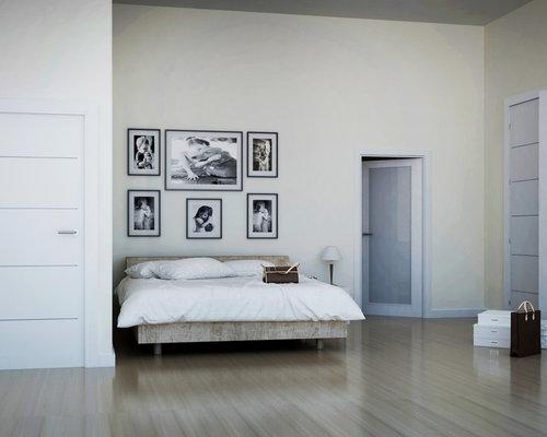Habitacion de Hotel Puertas Blancas Lacadas con pantografiado Norma ...