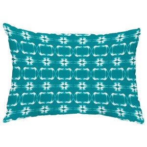 E by design O5PGN475GR17GR21-18 Printed Outdoor Pillow