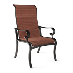Apple Town Outdoor Sling Chair in Burnt Orange (Set of 2) P316-601A