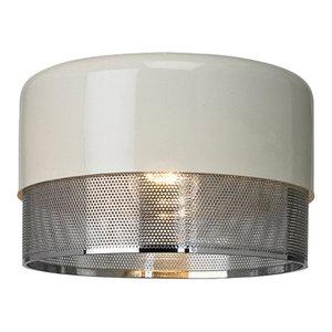 Emilio Pendant Light Shade, Polished Chrome Finish, Small