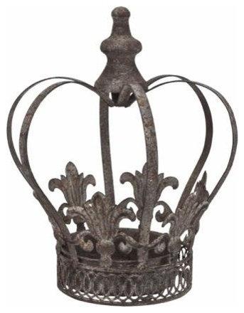 Decorative Metal Crown Home Decor