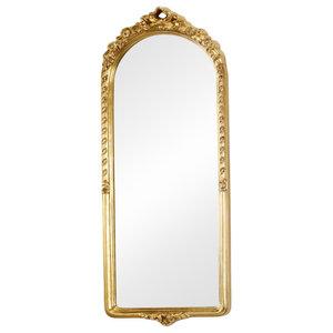 Leandro Wall Mirror, Pale Gold, 35x90 cm