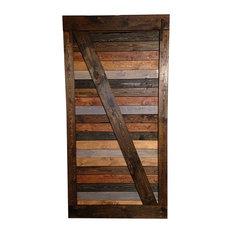 Good From Wood   Multi Stain Handmade Barn Door   Interior Doors