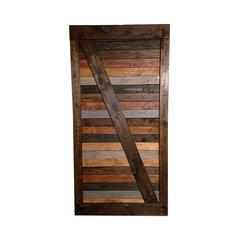 Handmade Barn Door, Multicolor. Interior And Closet Doors