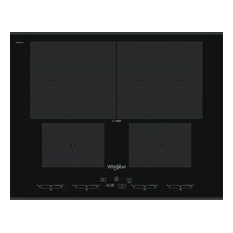 Whirlpool SMO654OF/BT/IXL Built-In Black Flex Induction Hob