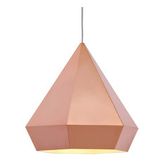 Superior Zuo Modern Contemporary   Forecast Ceiling Lamp, Rose Gold   Pendant  Lighting