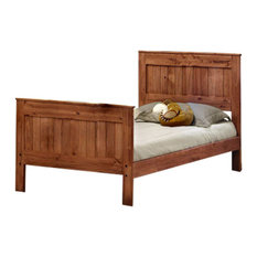 Full Mates Bed Mahogany, 314021F