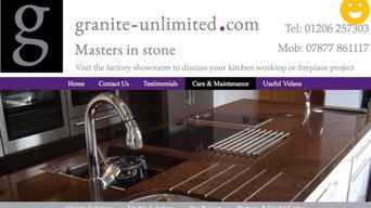 Love www.granite-unlimited.com