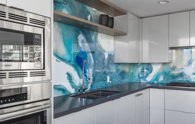 10 Kitchen Backsplashes That Make a Statement