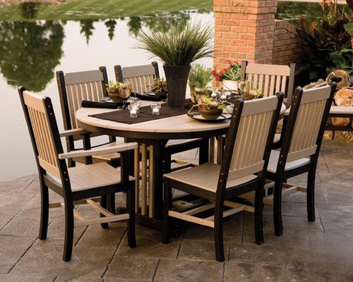 - Mission Polywood Outdoor Dining Set