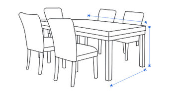 """Deep Seating Dining Covers 27"""" W X 31"""" D X 31"""" H"""