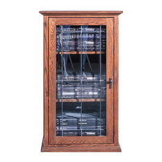 Mission Audio Tower With Glass Door