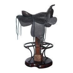 Art & Frame Direct Inc - Saddle Barstool - Bar Stools and Counter Stools