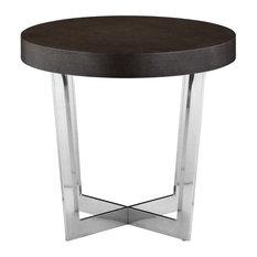 Pearl Side Table, Espresso