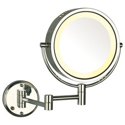 Contemporary Makeup Mirrors by SEE ALL INDUSTRIES