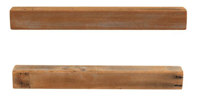 Cedar Floating Shelves, Set Of 2