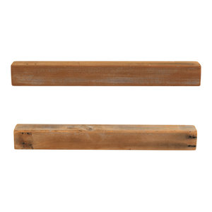 Cedar Floating Shelves, Set of 2