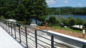 Terrasse en bois exotique Itauba