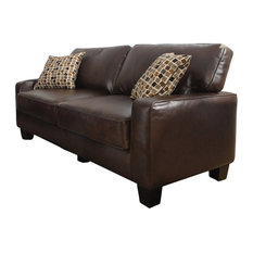 Comfortable Leather Couches the most comfortable leather sofas & couches | houzz