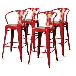 Contemporary Outdoor Bar Stools And Counter Stools by New Pacific Direct Inc.