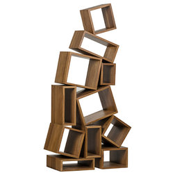 Contemporary Bookcases by HedgeApple