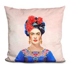 Frida.. Decorative Accent Throw Pillow
