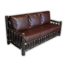 Vienna Industries Llc Hickory Log Living Room Couch Sofas