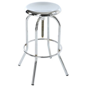 Mercury Chrome Bar Stool
