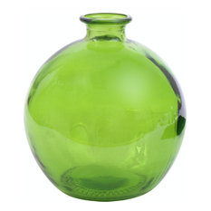 66 oz Ball Glass Container, Lime Green