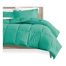Bare Home Down Alternative Comforter Set, Turquoise, Twin/Twin Xl
