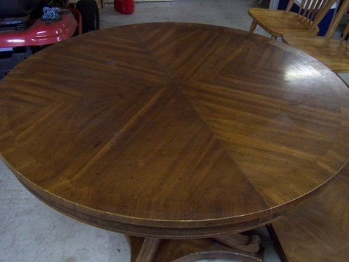 Ordinaire Refinishing Lacquer Table Top
