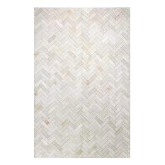 Bashian Quentin Area Rug, Cream, 8'x10'