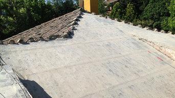 Rehabilitación tejado Majadahonda