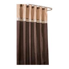 Brown Shower Curtains contemporary bath linens | houzz
