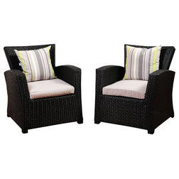 Tropical Outdoor Lounge Chairs by International Home Miami Corp